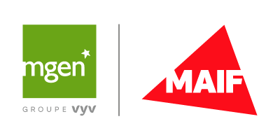 Logos MAIF et MGEN
